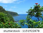 scenic lookout over the deep...   Shutterstock . vector #1151922878
