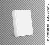 blank cover of magazine  book ... | Shutterstock .eps vector #1151924042