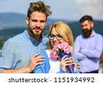 couple in love dating while... | Shutterstock . vector #1151934992