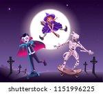 halloween zombie party. vampire ...