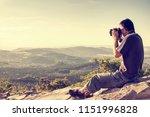 nature photographer on a...   Shutterstock . vector #1151996828