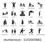 set of 20 simple editable icons ... | Shutterstock .eps vector #1152005882