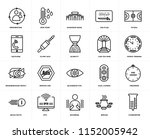 set of 20 simple editable icons ... | Shutterstock .eps vector #1152005942