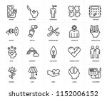 set of 20 icons such as... | Shutterstock .eps vector #1152006152