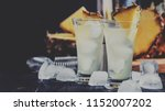 alcoholic cocktail with... | Shutterstock . vector #1152007202