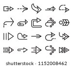 set of 20 simple editable icons ... | Shutterstock .eps vector #1152008462