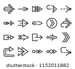 set of 20 simple editable icons ... | Shutterstock .eps vector #1152011882