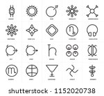 set of 20 icons such as... | Shutterstock .eps vector #1152020738