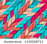 background with diagonal braids.... | Shutterstock .eps vector #1152028712