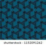 ornamental seamless pattern.... | Shutterstock .eps vector #1152091262