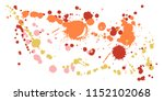 watercolor stains grunge... | Shutterstock .eps vector #1152102068