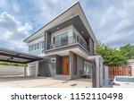 modern home design | Shutterstock . vector #1152110498