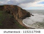 coastline  chimney rock  point...   Shutterstock . vector #1152117548