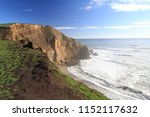 coastline  chimney rock  point...   Shutterstock . vector #1152117632