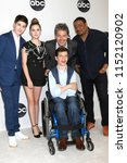 Small photo of LOS ANGELES - AUG 7: Mason Cook, Kyla Kenedy, Micah Fowler, John Ross Bowie, Cedric Yarbrough at the ABC TCA Party- Summer 2018 at the Beverly Hilton Hotel on August 7, 2018 in Beverly Hills, CA