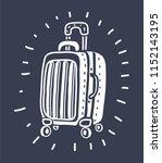 vector cartoon illustration of... | Shutterstock .eps vector #1152143195