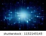 2d illustration abstract... | Shutterstock . vector #1152145145