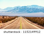 view from the route 66  mojave... | Shutterstock . vector #1152149912