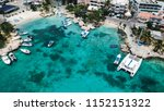 yachts and boats in the bay.... | Shutterstock . vector #1152151322