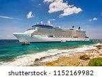 willemstad  curacao   april 10  ... | Shutterstock . vector #1152169982