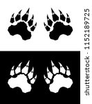 vector claw set | Shutterstock .eps vector #1152189725
