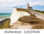 Belle Tout Lighthouse At Beach...