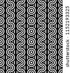 seamless pattern with circles... | Shutterstock .eps vector #1152193325
