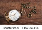 An Antique Gold Pocket Watch...
