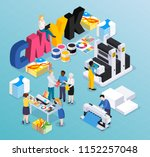 advertising agency printing... | Shutterstock .eps vector #1152257048