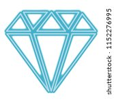 diamond gem isolated icon | Shutterstock .eps vector #1152276995