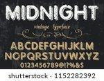 classic vintage decorative font ...   Shutterstock .eps vector #1152282392
