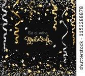 eid al adha mubarak  happy... | Shutterstock .eps vector #1152288878