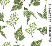seamless pattern with different ... | Shutterstock .eps vector #1152299945