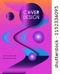 vector minimalistic cover... | Shutterstock .eps vector #1152336095