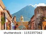 antigua guatemala  classic... | Shutterstock . vector #1152357362