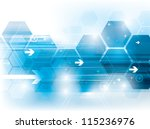 abstract background technology... | Shutterstock .eps vector #115236976