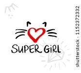 fashion super girl background... | Shutterstock .eps vector #1152372332