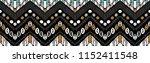 tribal vector ornament.... | Shutterstock .eps vector #1152411548
