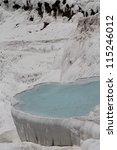 pamukkale   terraces of...   Shutterstock . vector #115246012