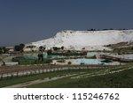 pamukkale   terraces of...   Shutterstock . vector #115246762