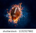 american football game | Shutterstock . vector #1152527882