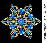 illustration  brooch pendant... | Shutterstock .eps vector #1152533525