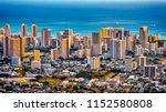 Cityscape Of Honolulu City And  ...