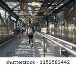 edinburgh  uk   circa june 2018 ... | Shutterstock . vector #1152583442