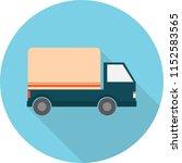 shipping truck icon design | Shutterstock .eps vector #1152583565