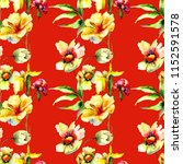 seamless pattern with... | Shutterstock . vector #1152591578