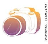 photographic camera design   Shutterstock .eps vector #1152591755