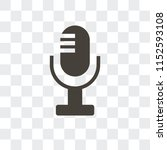 recorder vector icon isolated... | Shutterstock .eps vector #1152593108