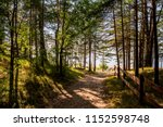 baltic sea shore in latvia.... | Shutterstock . vector #1152598748