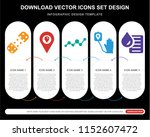 5 vector icons such as plaster  ... | Shutterstock .eps vector #1152607472